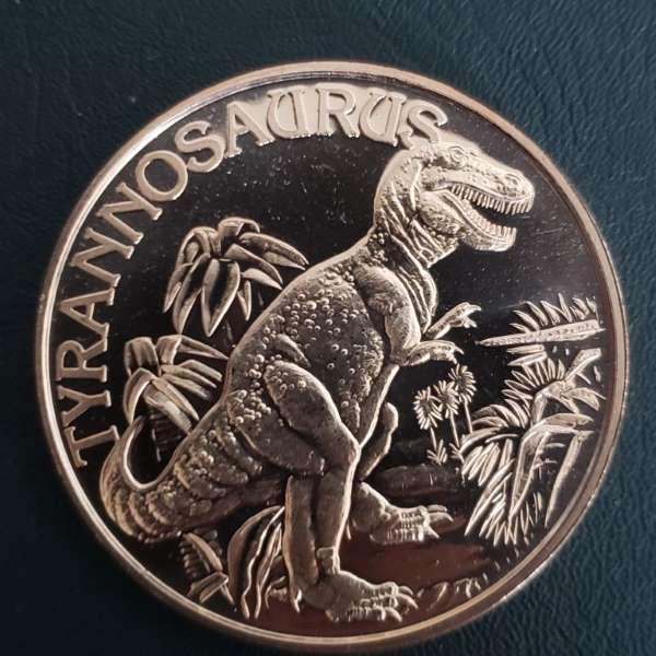 Tyranosauras Coin
